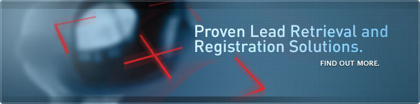 Proven Lead Retrieval and Registration Solutions.